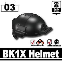 BK1X Helmet black