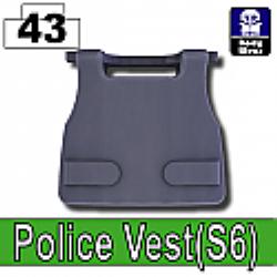 Полицейский бронежилет S6 серый