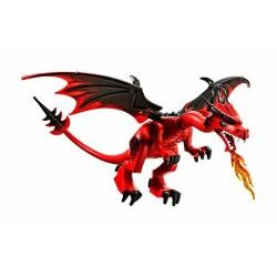 Dragon with Red Head