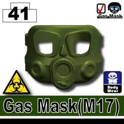 Противогаз M17 зеленого цвета