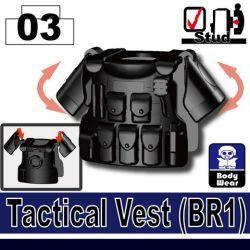 Tactical Vest(BR1) Black