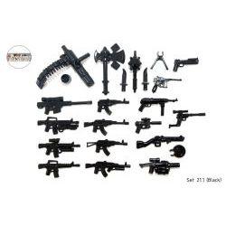 Набор оружия черного цвета Русармс 21.1
