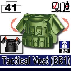 Tank Green Tactical Vest(BR1)