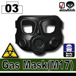 Black Gas Mask(M17)