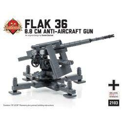Немецкая пушка ПВО Флэк 36