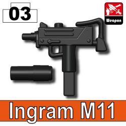 УЗИ M11 черный