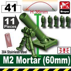 Гранатомет M2 зеленого цвета