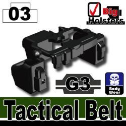 Tactical Belt G3 Black