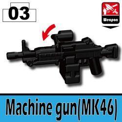 Machine gun MK46