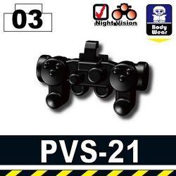 Night Vision Black (PVS-21)
