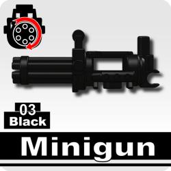 Minigun Black