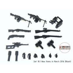 Набор оружия от Rusarms v 18.1 черного цвета