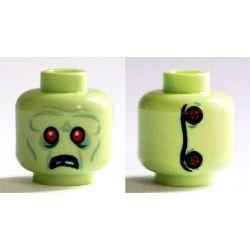 Head Alien Zombie, Red Eyes