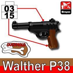 Пистолет Вальтер P38, двухцветный