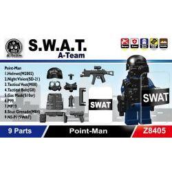 Z8405 Обмундирование наводчика Спецназа SWAT