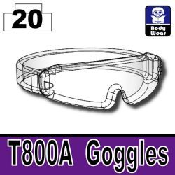 T800A Goggles Mx Clear