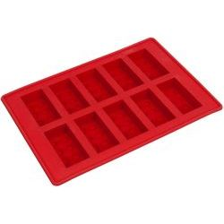 852768 LEGO Ice Brick Tray Red