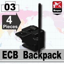 Рюкзак ECB черный