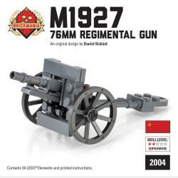 Советское лёгкое полковое орудие M1927 76mm