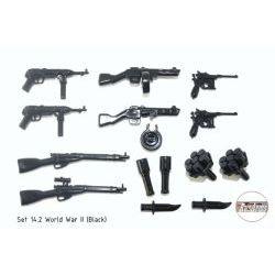 Набор оружия Второй Мировой Войны v 14.2 черный цвет