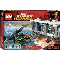 76007 Iron Man: Malibu Mansion Attack