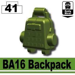 Зеленый рюкзак BA16