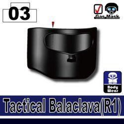 Tactical Balaclava R1 (Black)