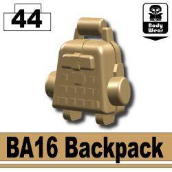 Темно-тановый рюкзак BA16