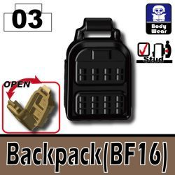 Backpack BF16 Black