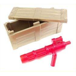 Ящик и миниган (красного цвета)
