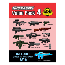 Набор оружия №4 от БрикАрмс