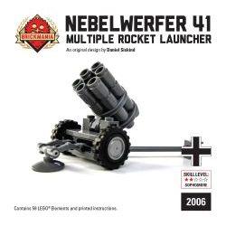 Немецкая ракетная установка NEBELWERFER 41