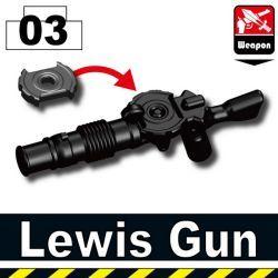 Пулемет Льюиса черный