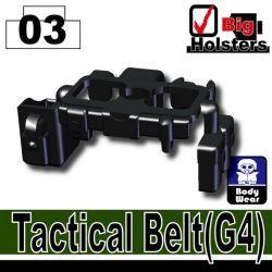 Тактически пояс G4 черный