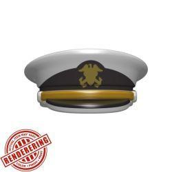 Офицерская фуражка военно-морского флота