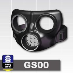 Gas mask GS00 black
