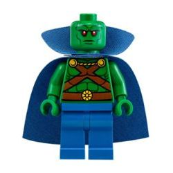 sh158: Martian Manhunter - Cape with Collar