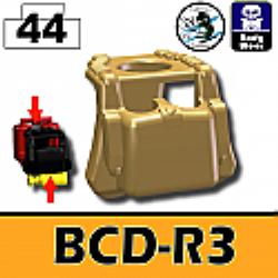 BCD-R3 Dark Tan