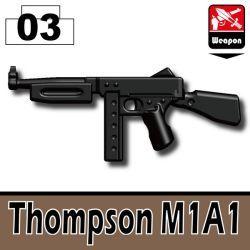 Пулемет Томпсона черный
