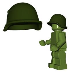 Советский шлем, зеленого цвета