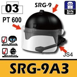 Шлем с прозрачным визором SRG-9A3