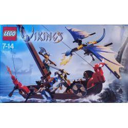 7016 Ладья викингов против дракона Виверна