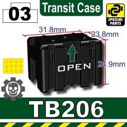 TB206 (Transit Case) BLACK