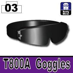 Черные очки T800A