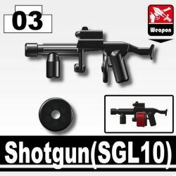 Гранатомент SGL10 черный