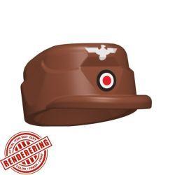 Немецкая кепи красно-коричневая