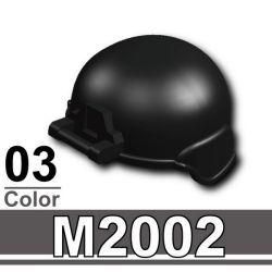 Современный шлем M2002 черного цвета