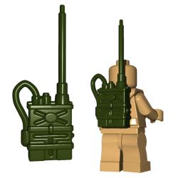 Радиоприемник зеленого цвета