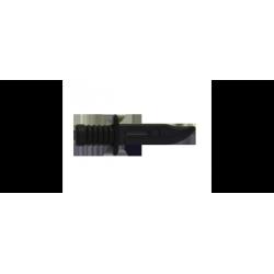 Боевой нож черного цвета