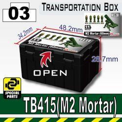 Ящик для Мортиры черный